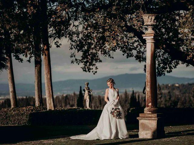 Il matrimonio di Elisabetta e Luca a Montespertoli, Firenze 47