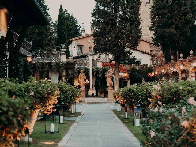 Il matrimonio di Elisabetta e Luca a Montespertoli, Firenze 54
