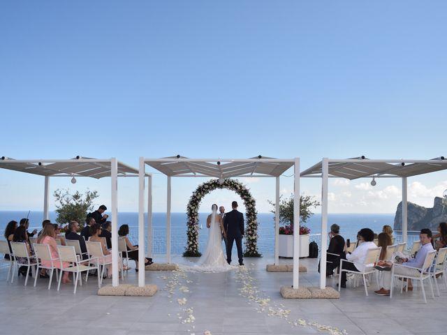 Il matrimonio di Erika e Coy a Massa Lubrense, Napoli 42