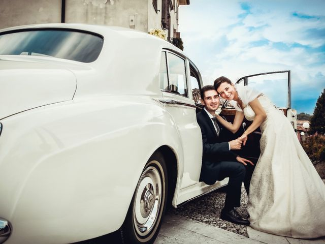 Il matrimonio di Alessandro e Vania a Colle Umberto, Treviso 1