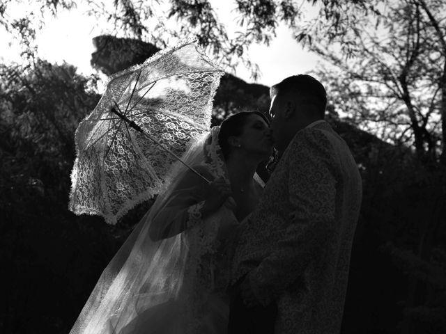 le nozze di Damiano e Claudia