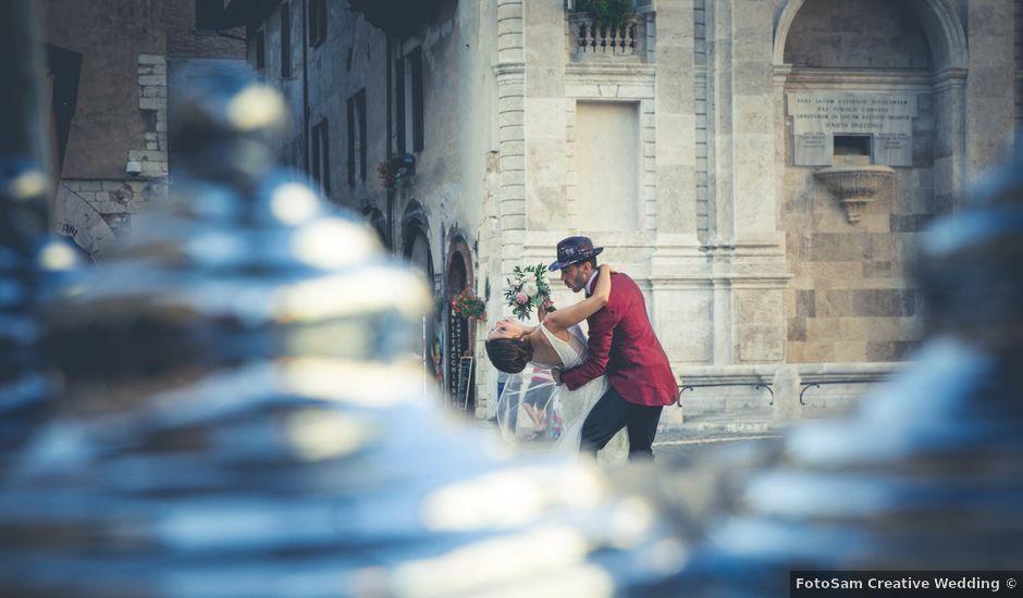 Il matrimonio di Marco e Sara a Spoleto, Perugia