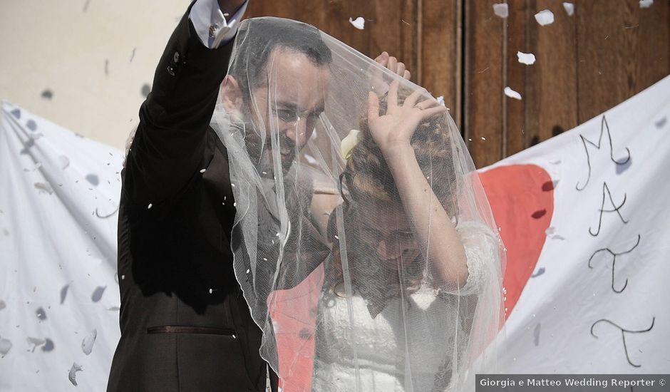 Il matrimonio di Mattia e Alice a Istrana, Treviso