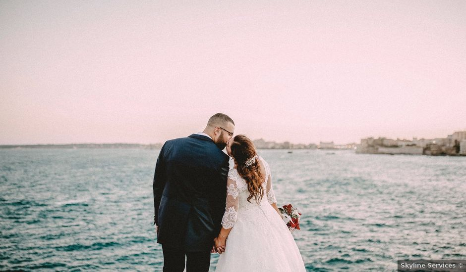 Il matrimonio di Vincenzo e Martina a Siracusa, Siracusa