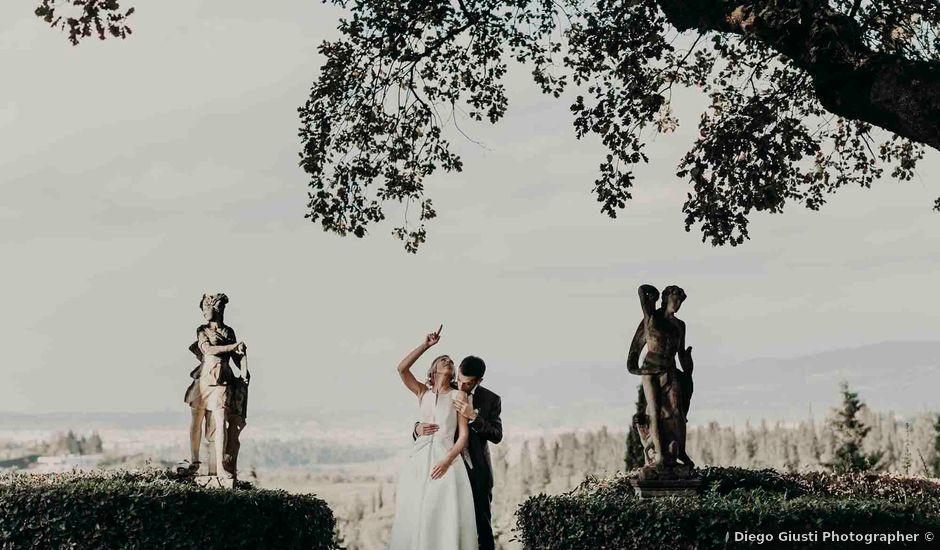Il matrimonio di Elisabetta e Luca a Montespertoli, Firenze