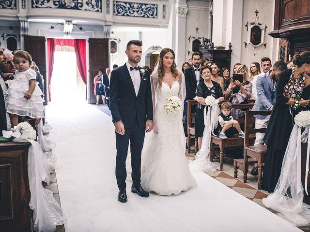 Il matrimonio di Mattia e Vittoria a Serra de' Conti, Ancona 22