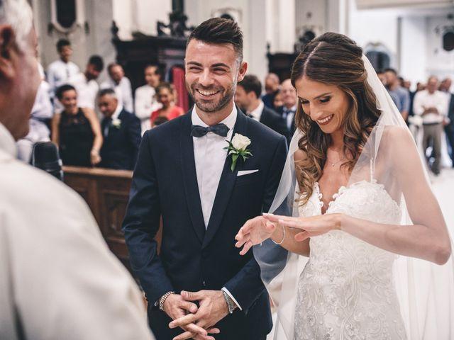 Il matrimonio di Mattia e Vittoria a Serra de' Conti, Ancona 26
