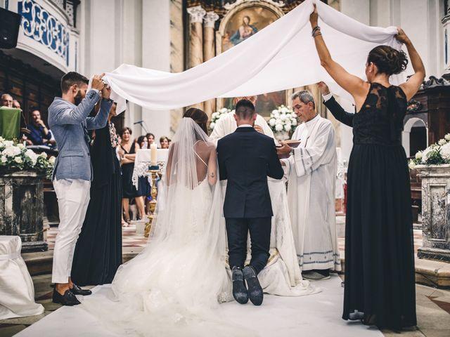 Il matrimonio di Mattia e Vittoria a Serra de' Conti, Ancona 27