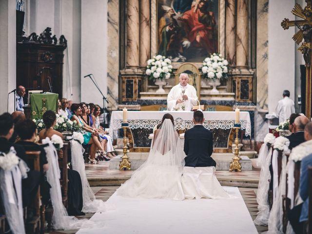 Il matrimonio di Mattia e Vittoria a Serra de' Conti, Ancona 28