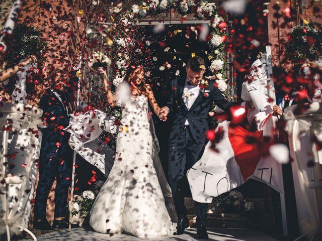 Il matrimonio di Mattia e Vittoria a Serra de' Conti, Ancona 36