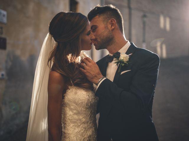 Il matrimonio di Mattia e Vittoria a Serra de' Conti, Ancona 1