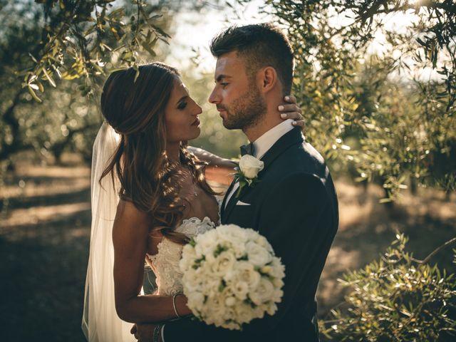 Il matrimonio di Mattia e Vittoria a Serra de' Conti, Ancona 44