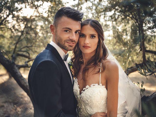 Il matrimonio di Mattia e Vittoria a Serra de' Conti, Ancona 46