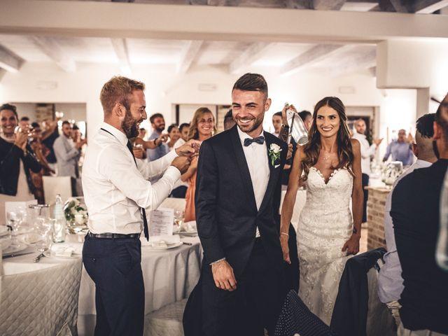 Il matrimonio di Mattia e Vittoria a Serra de' Conti, Ancona 49