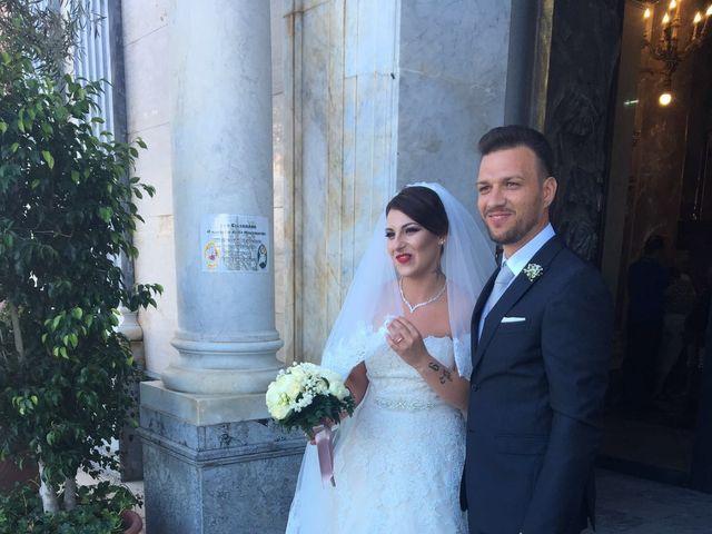 Il matrimonio di leandra  e stefano  a Altavilla Milicia, Palermo 76