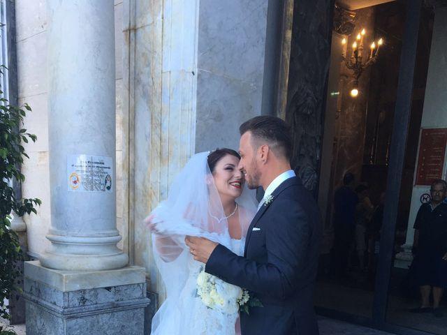 Il matrimonio di leandra  e stefano  a Altavilla Milicia, Palermo 78