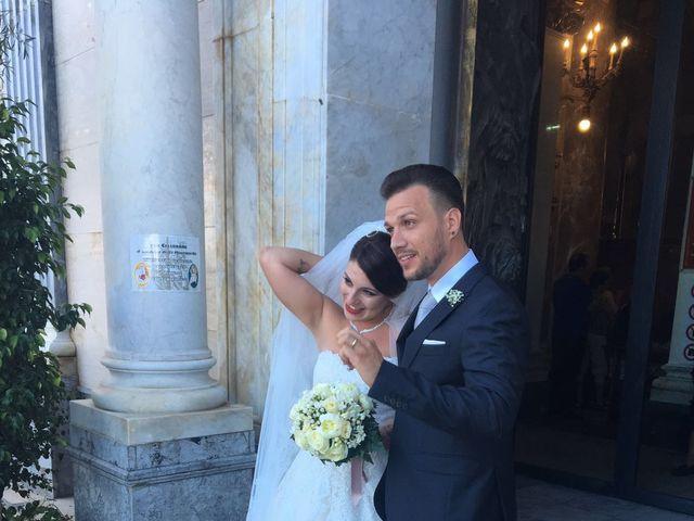 Il matrimonio di leandra  e stefano  a Altavilla Milicia, Palermo 80