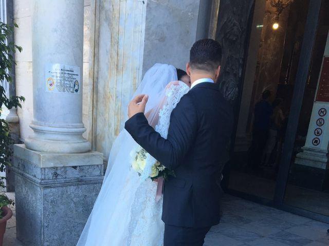 Il matrimonio di leandra  e stefano  a Altavilla Milicia, Palermo 81
