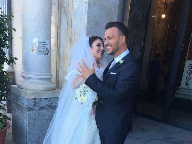 Il matrimonio di leandra  e stefano  a Altavilla Milicia, Palermo 82