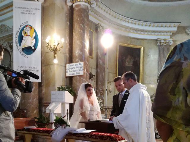 Il matrimonio di leandra  e stefano  a Altavilla Milicia, Palermo 111