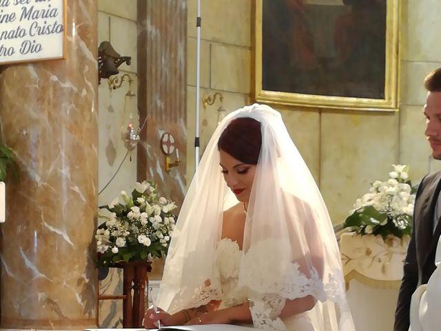 Il matrimonio di leandra  e stefano  a Altavilla Milicia, Palermo 112