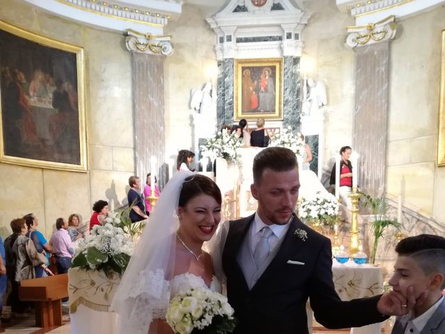 Il matrimonio di leandra  e stefano  a Altavilla Milicia, Palermo 119