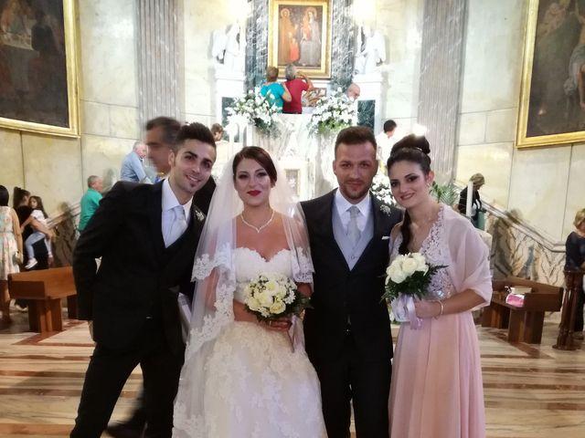 Il matrimonio di leandra  e stefano  a Altavilla Milicia, Palermo 121