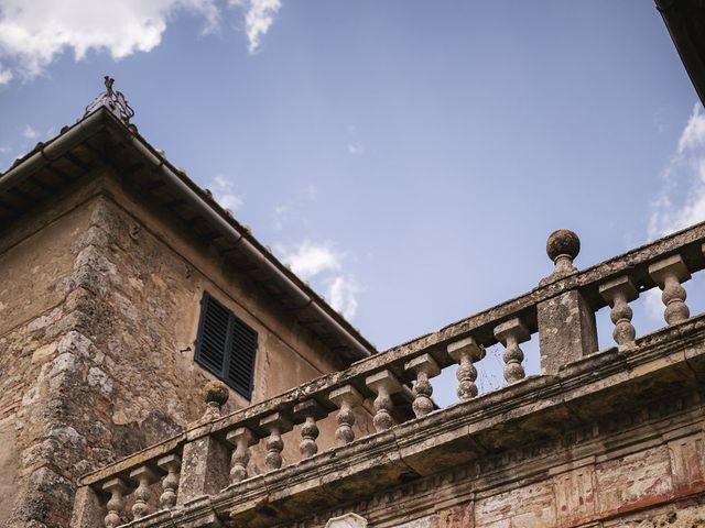 Il matrimonio di Micheal e Vicky a Monteriggioni, Siena 3