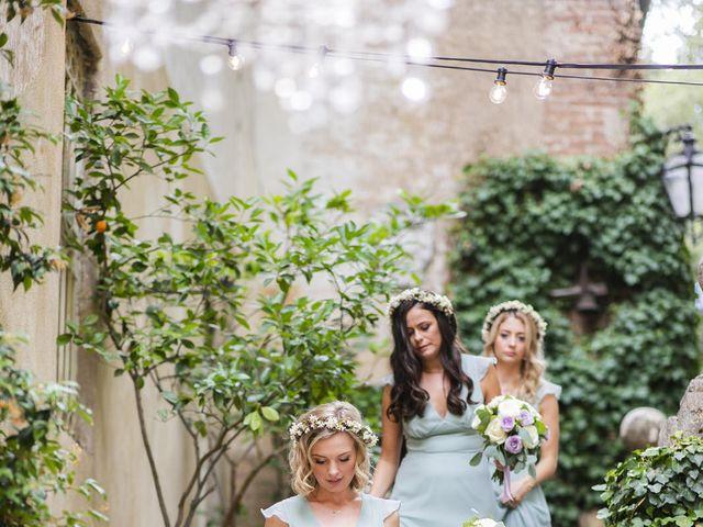 Il matrimonio di Micheal e Vicky a Monteriggioni, Siena 1