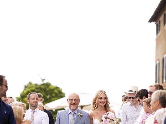 Il matrimonio di Micheal e Vicky a Monteriggioni, Siena 38