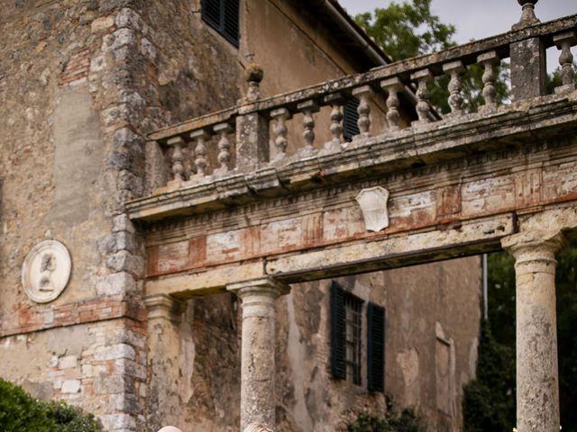 Il matrimonio di Micheal e Vicky a Monteriggioni, Siena 39