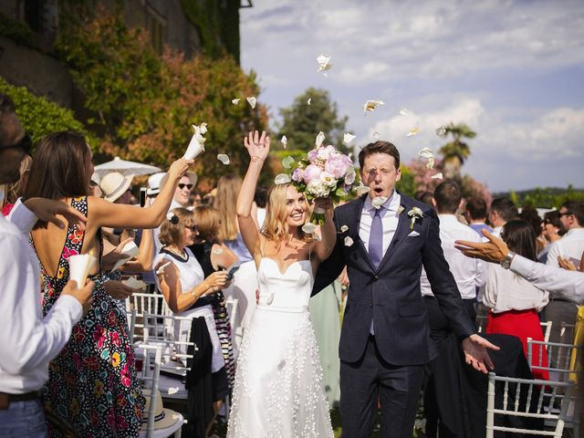 Il matrimonio di Micheal e Vicky a Monteriggioni, Siena 48