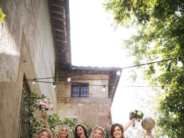 Il matrimonio di Micheal e Vicky a Monteriggioni, Siena 56