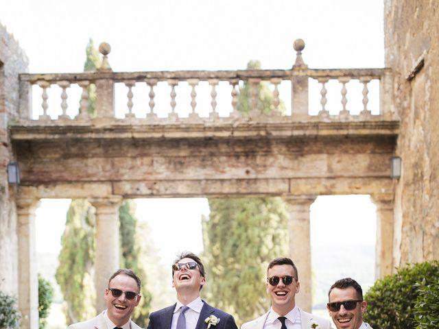 Il matrimonio di Micheal e Vicky a Monteriggioni, Siena 60