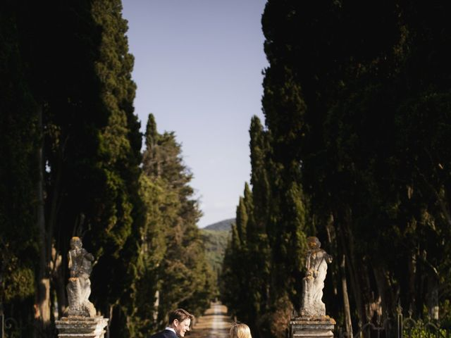 Il matrimonio di Micheal e Vicky a Monteriggioni, Siena 67