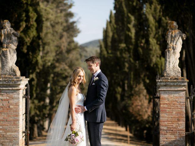 Il matrimonio di Micheal e Vicky a Monteriggioni, Siena 70