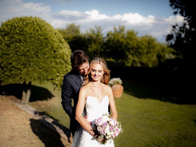 Il matrimonio di Micheal e Vicky a Monteriggioni, Siena 77