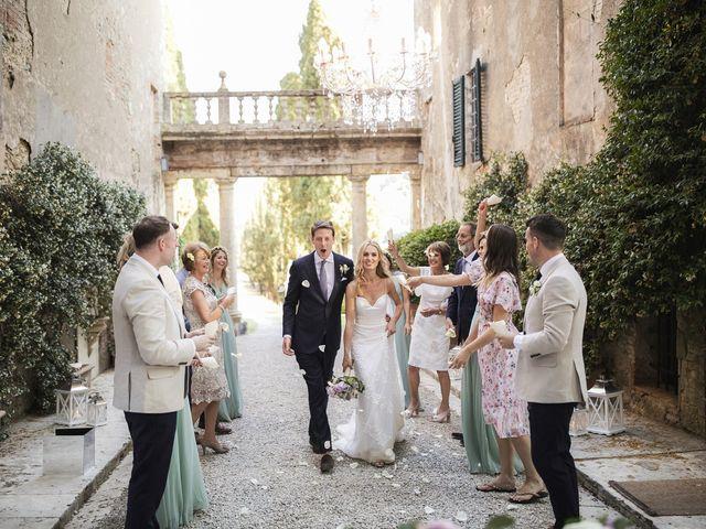 Il matrimonio di Micheal e Vicky a Monteriggioni, Siena 104