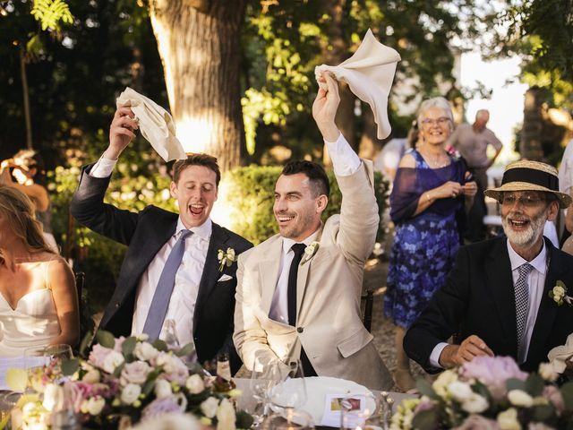 Il matrimonio di Micheal e Vicky a Monteriggioni, Siena 105