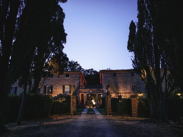 Il matrimonio di Micheal e Vicky a Monteriggioni, Siena 123