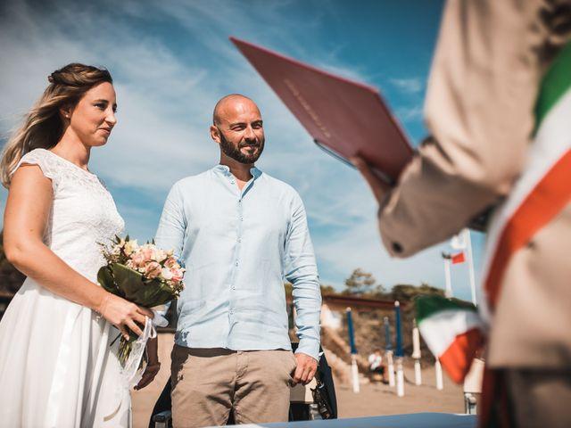 Il matrimonio di Sabine e David a Castiglione della Pescaia, Grosseto 22