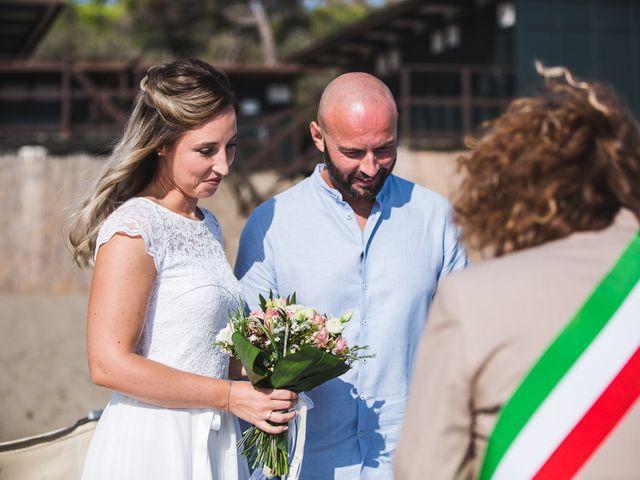 Il matrimonio di Sabine e David a Castiglione della Pescaia, Grosseto 25