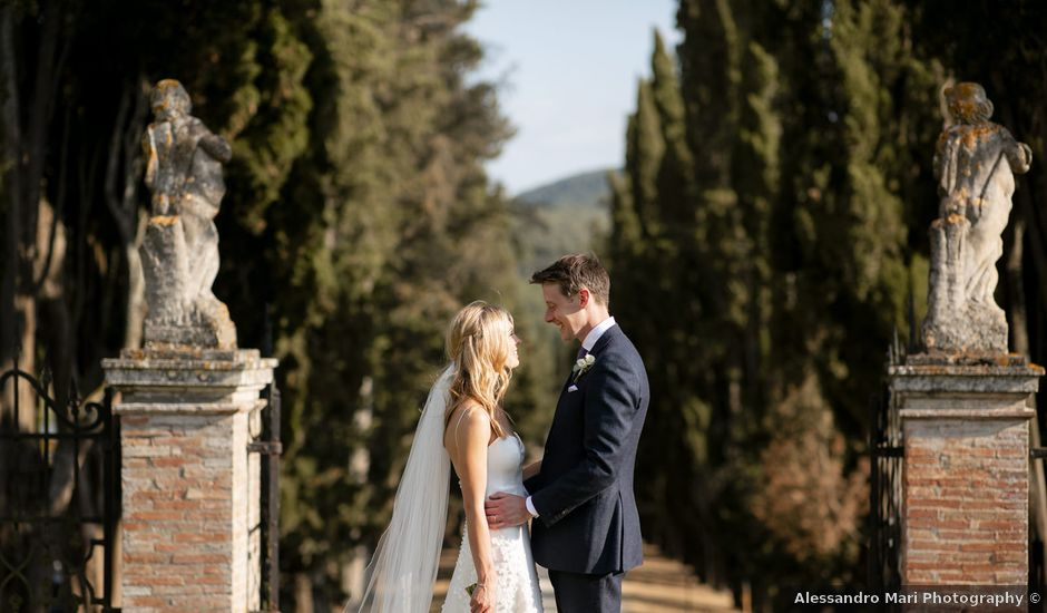 Il matrimonio di Micheal e Vicky a Monteriggioni, Siena