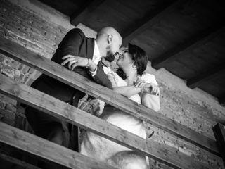 Le nozze di Erica e Cristiano