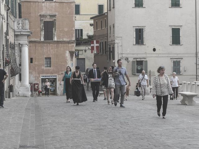 Il matrimonio di Romano e Virginia a Jesi, Ancona 40