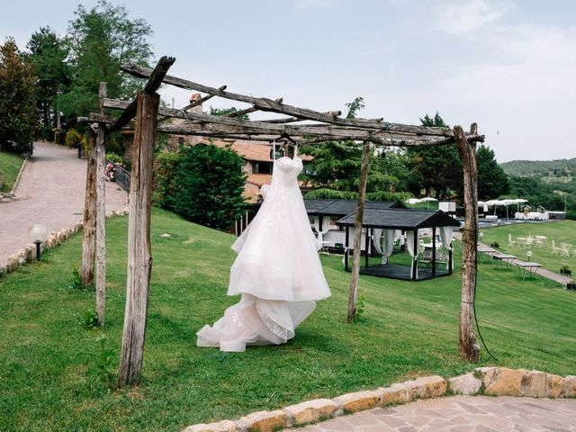 Il matrimonio di Andrea e Benedetta a Orvieto, Terni 2