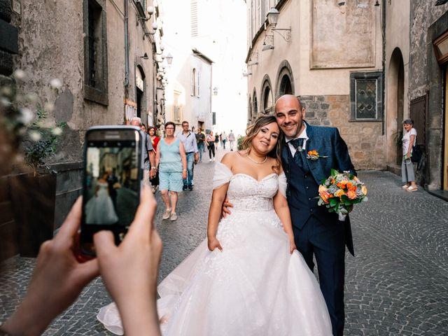 Il matrimonio di Andrea e Benedetta a Orvieto, Terni 34
