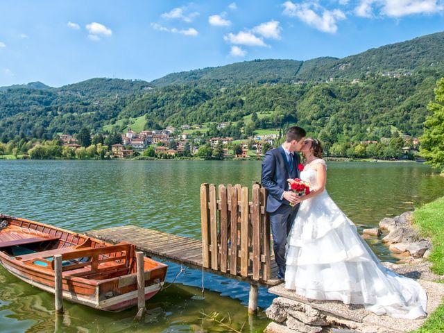 Il matrimonio di Christian e Ilenia a Monasterolo del Castello, Bergamo 40