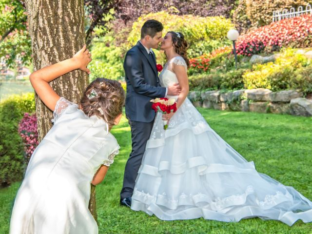 Le nozze di Ilenia e Christian