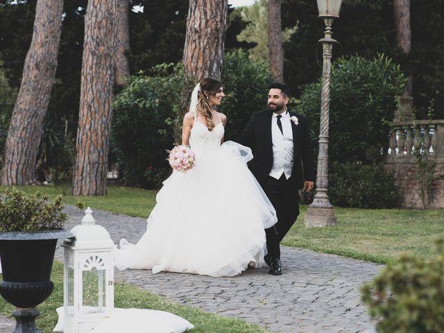 Il matrimonio di Lorenzo e Francesca a Castel Gandolfo, Roma 1